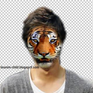 membuat manusia Harimau di photoshop