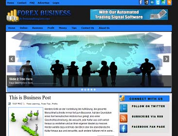 Forex business blogger template blogger tips blogger tricks forex business blogger template wajeb Images