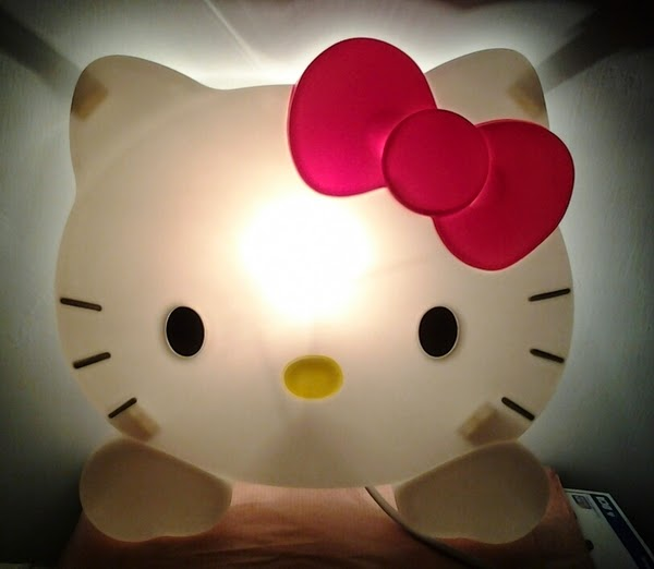 Lampu tidur hello kitty gambar gratis