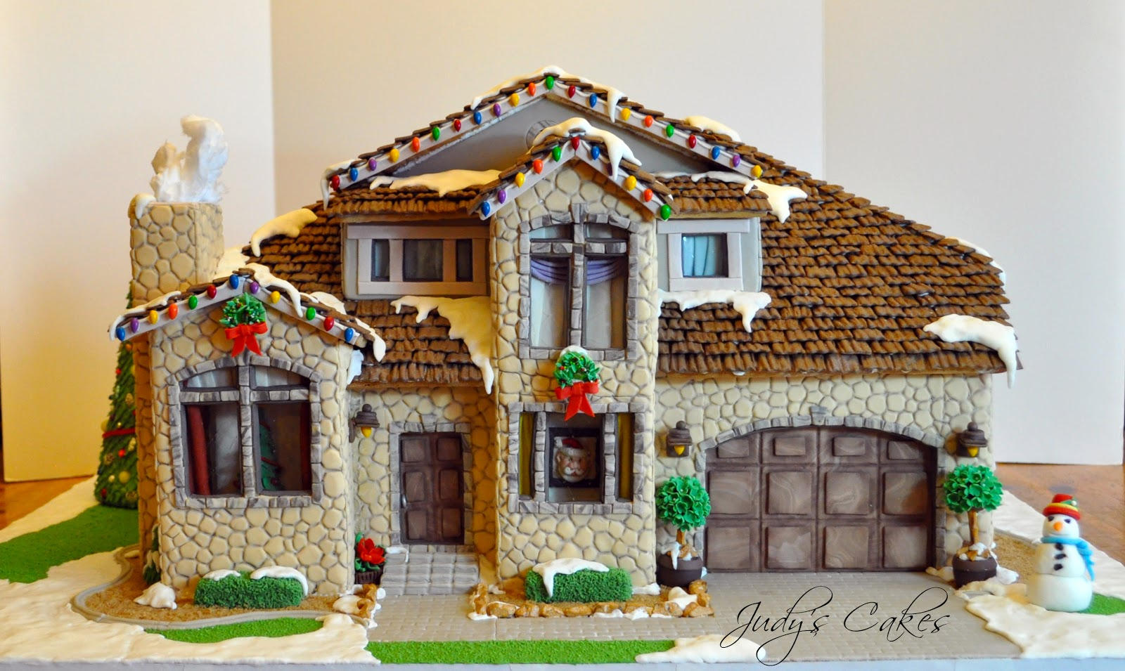 Judy S Cakes Vote For My Gingerbread House