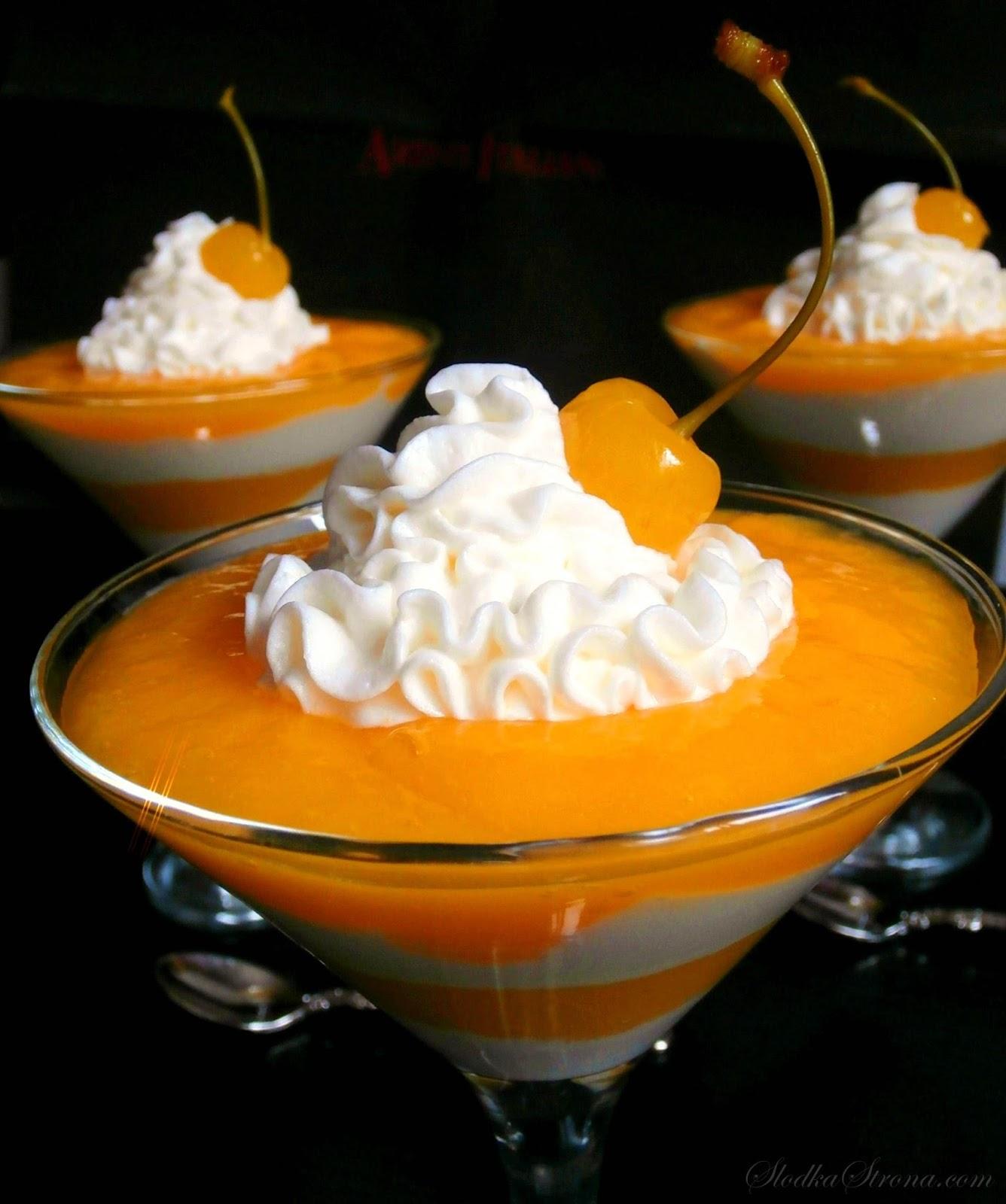 Deser Jogurtowy z Mango - Przepis - Słodka Strona