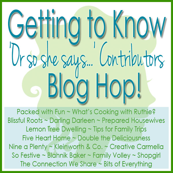 Get To Know You Blog Hop & Giveaway @ Blissful Roots