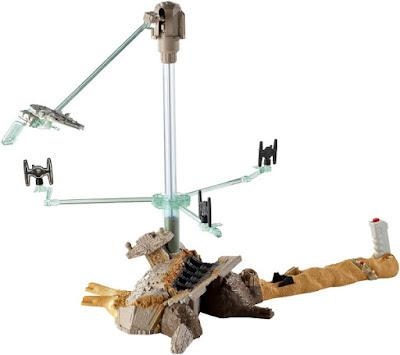 TOYS : JUGUETES - HOT WHEELS Star Wars 7 - Escape from Jakku El Despertar de la Fuerza - The Force Awakens Producto Oficial Película Disney 2015 | Mattel CGN32 A partir de 5 años Comprar en Amazon España & buy Amazon USA