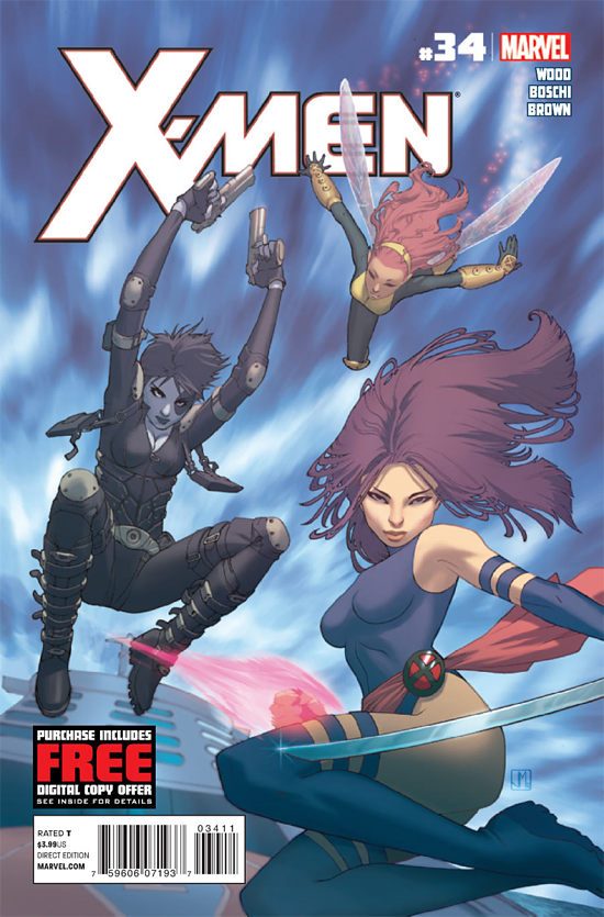 X Men34Cover Seth Peck and Paul Azaceta take over X Men with issue #38