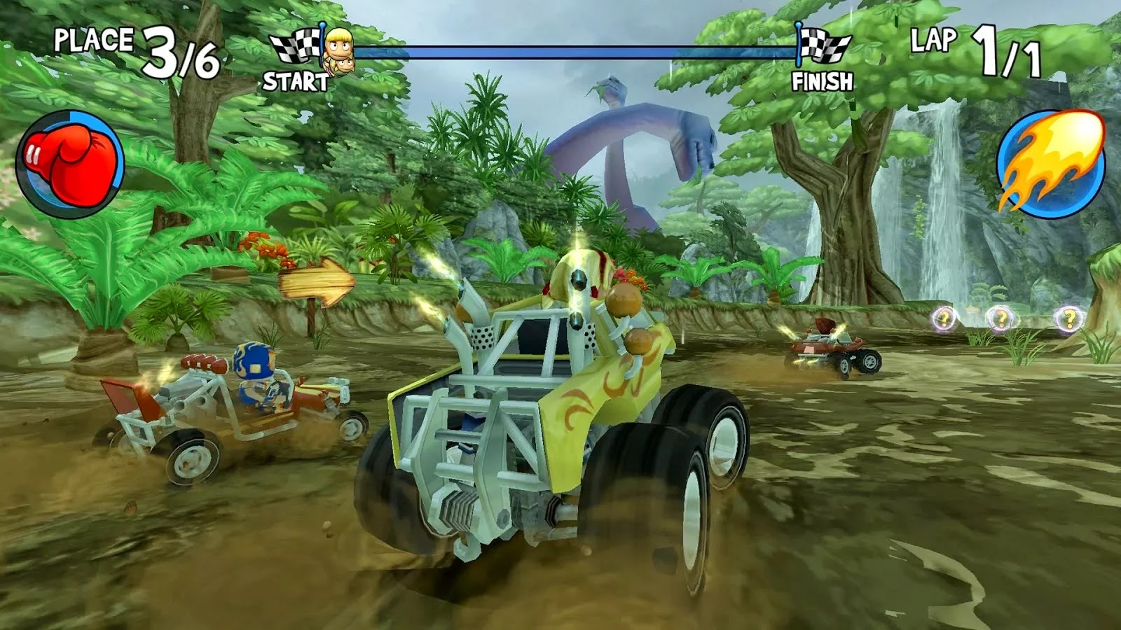 Beach Buggy Racing Shortcuts