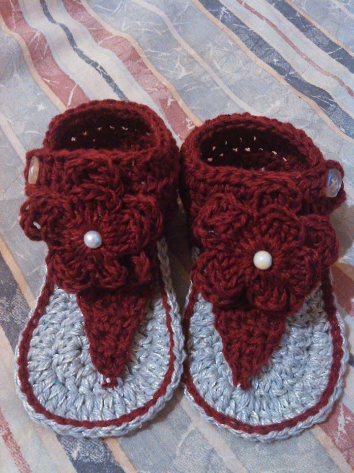 Örgüden Bebek Sandaleti Yapımı