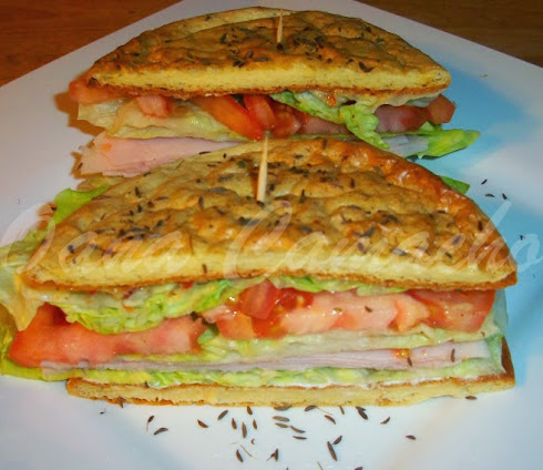 LOW CARB TURKEY SANDWICHES