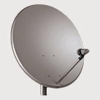 antena parabólica banda ku