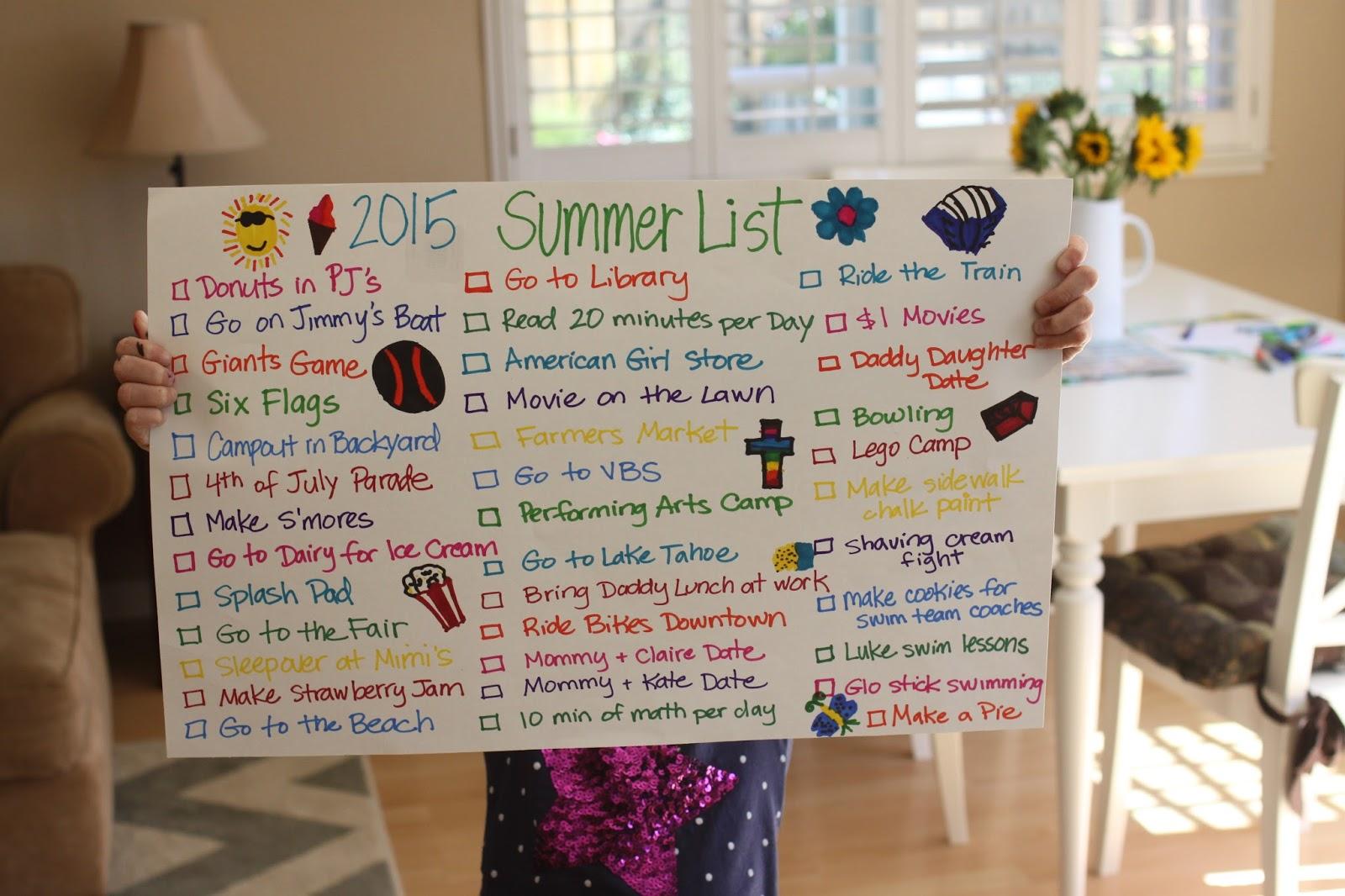 the larson lingo our 2015 summer list