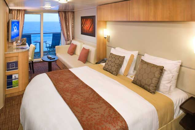 Celebrity Silhouette Cabin 2154 Pictures and Deck Location