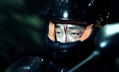 Huh Gak I Told You I Want to Die screen shot Hyun jin blood