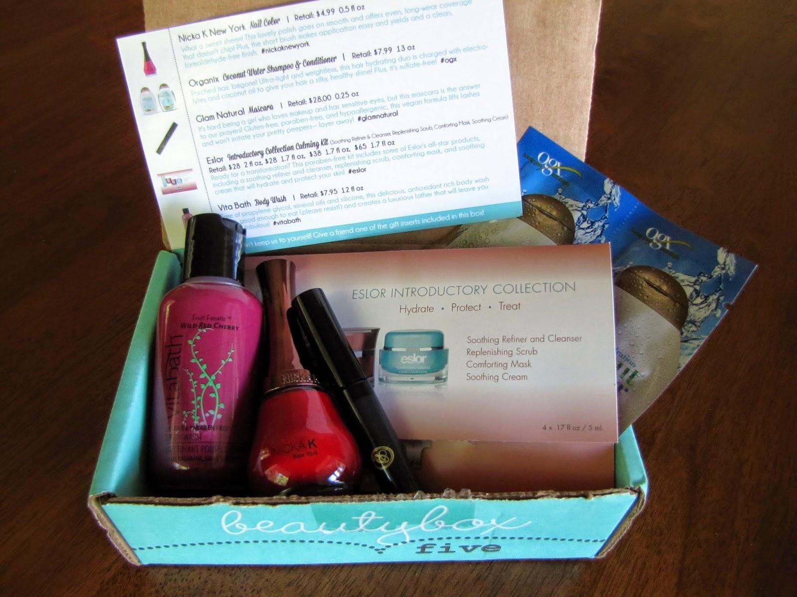 Makeup Miscellaneous: Beauty Box 5 - June 2014