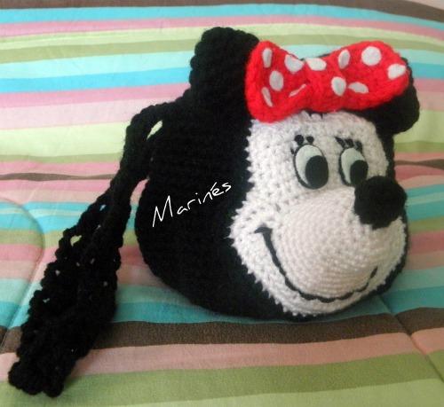El arte de tejer: Minnie Mouse Bag