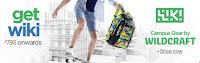 Amazon : Wildcraft Wiki Daypack Bag Starting at Rs.695