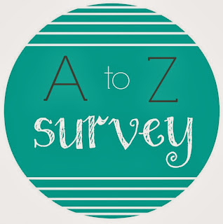 A to Z Bookish Survey