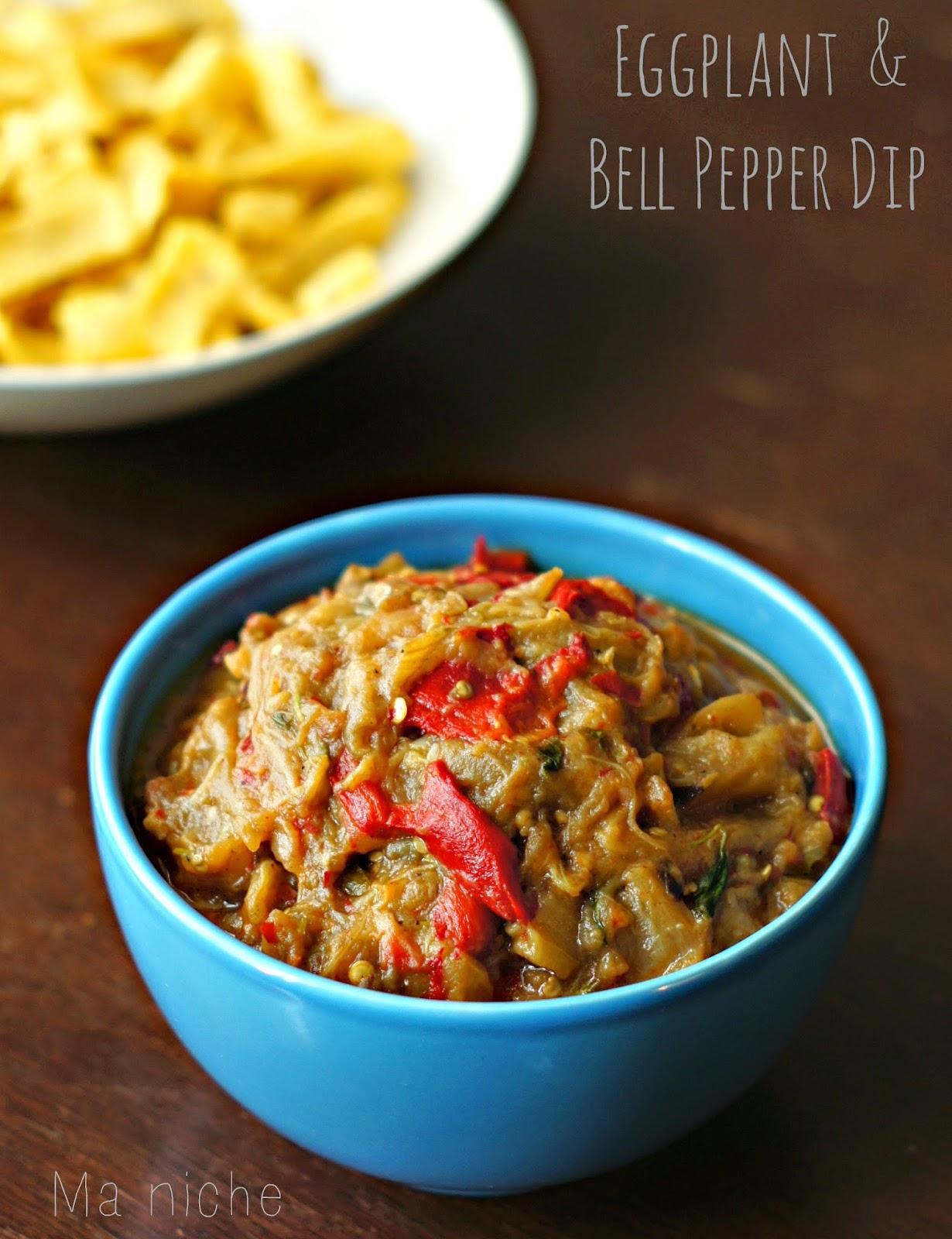 Ma Niche : Spanish Eggplant & Bell Pepper (Dip)