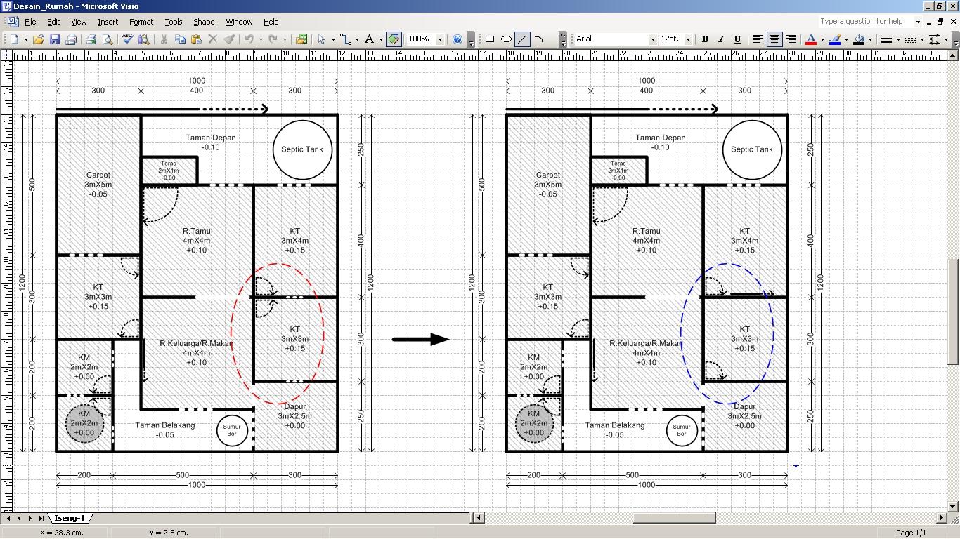 desain rumah seadanya saya bukan arsitek desain rumah