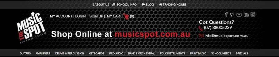 The Music Spot (musicspot.com.au)
