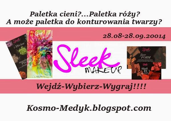 Sleek 'omania - Blogowe rozdanie czas start!