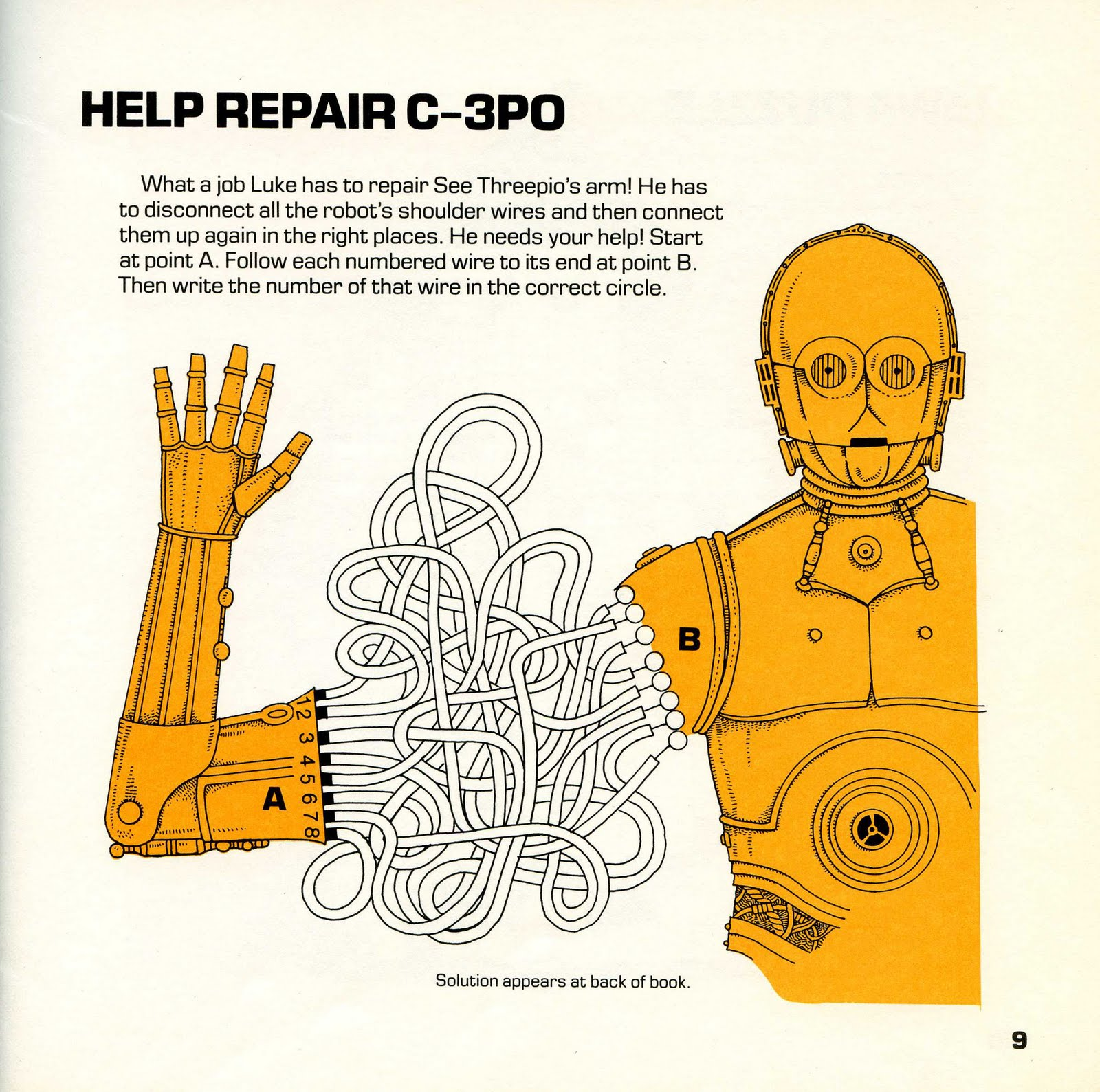 Star Wars - \'77 - \'80 Collector\'s Blog: Artoo Detoo\'s Activity Book