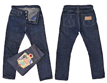 "Mister Freedom® Californian Lot.674, Sugar Cane fiber ""301 Okinawa"" 14 Oz. left-hand twill"
