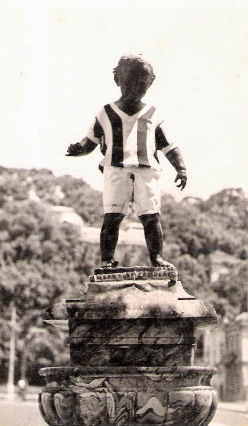 Manequinho Campeão em 1957
