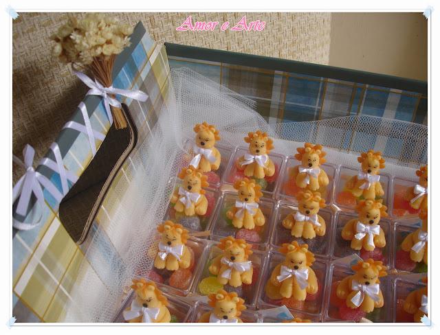 Lembrança de nascimento - Leãozinho