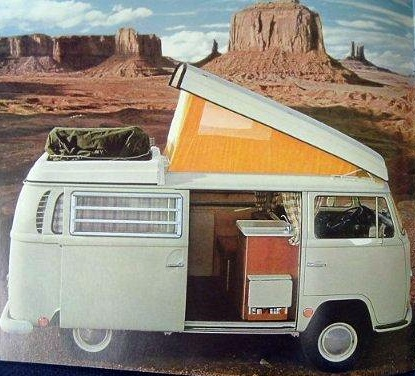 life in a volkswagen bus: how do you cook in a vw bus?