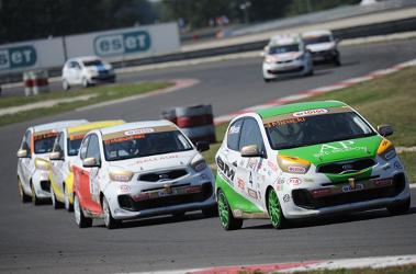Mistrzostwa Polski Kia Picanto na torze Slovakiaring