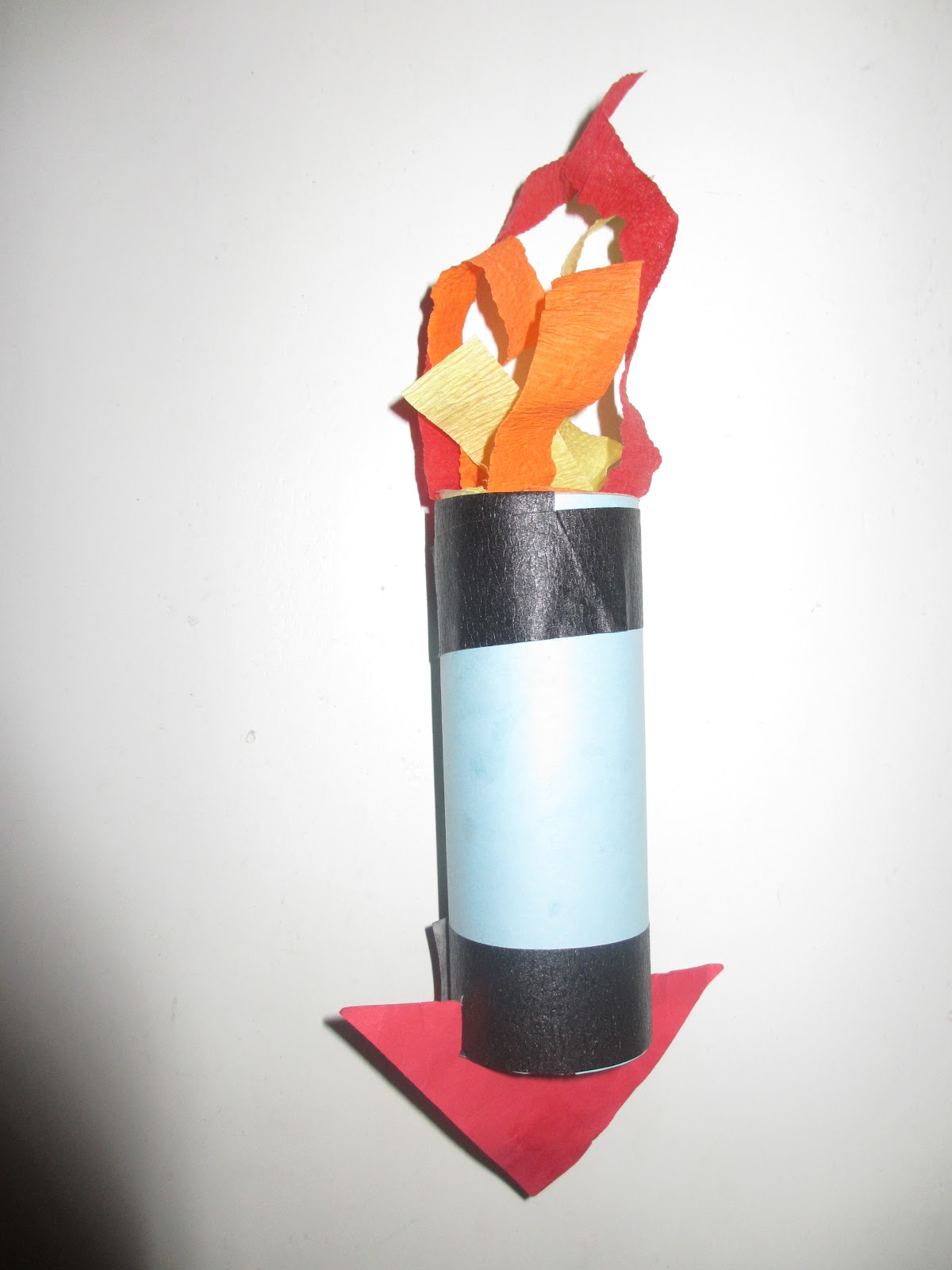 How to Make a Paper Rocket for Kids
