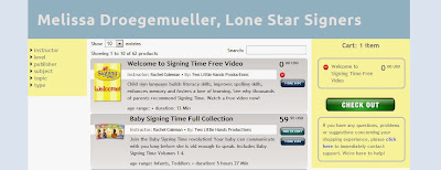 Get your FREE Signing Time download from Lone Star Signers!