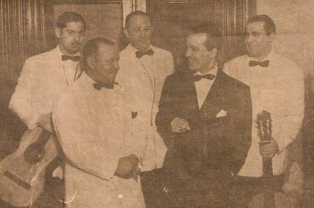 Hugo del Carril con Ciriaco Ortiz
