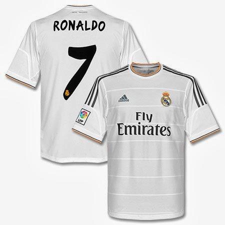 Cristiano Ronaldo Seragam Jersey Real Madrid 2014