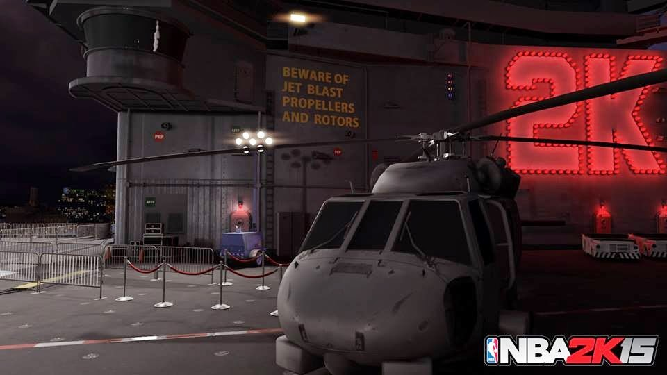 NBA 2K15 Old Town Flyers Aircraft Carrier