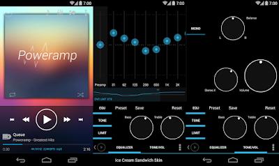 Aplikasi Musik Android Poweramp