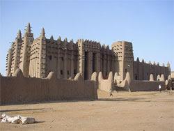 masjid djenne westafrica FOTO: Masjid masjid Unik di Dunia