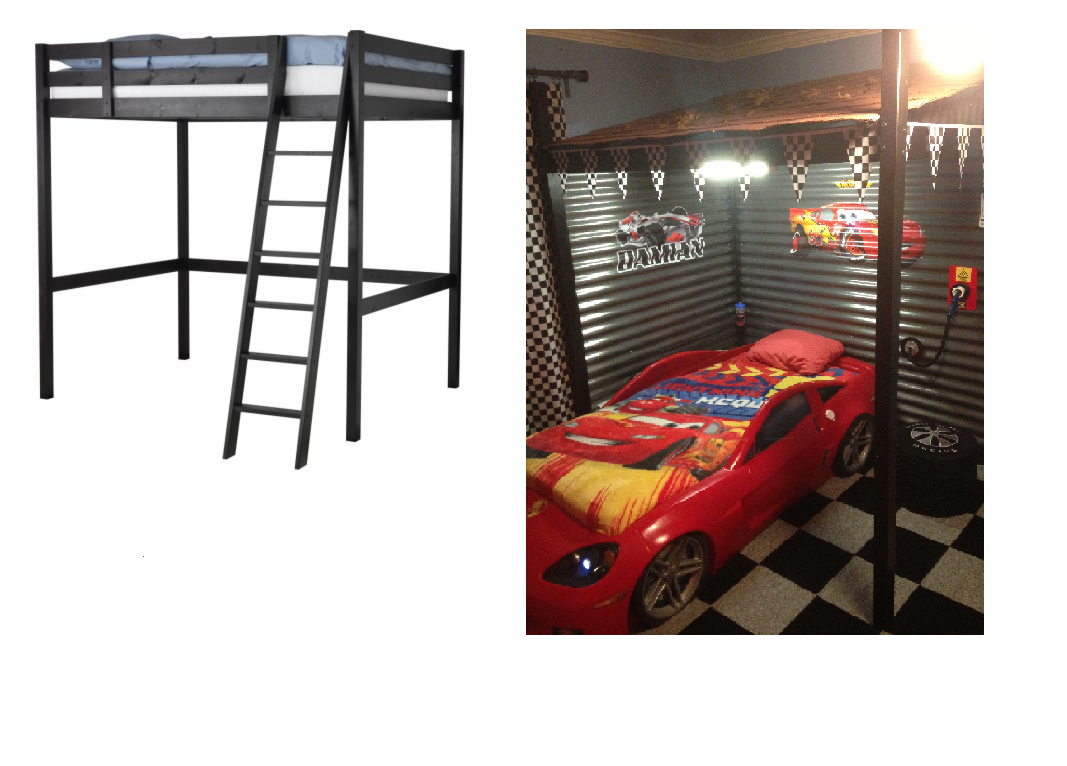 Amazing Cool Carport Loft Bed