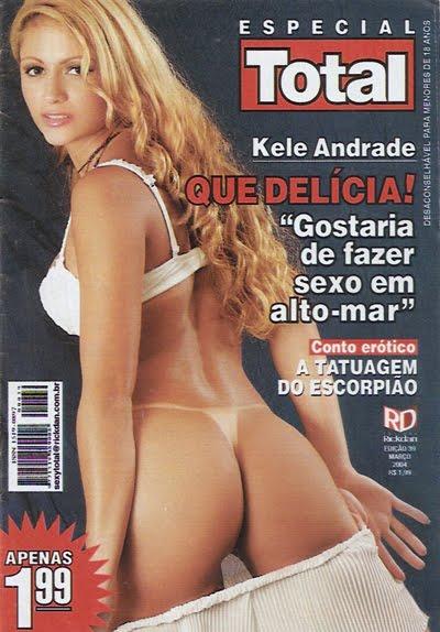 Kele Andrade pelada