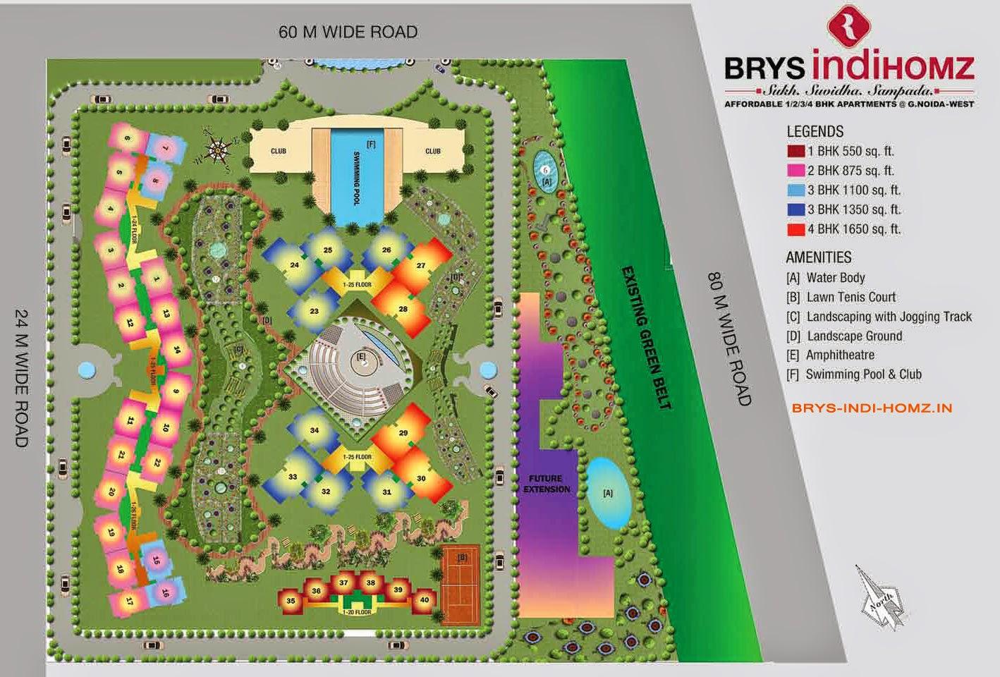 BRYS IndiHomz  Site Plan