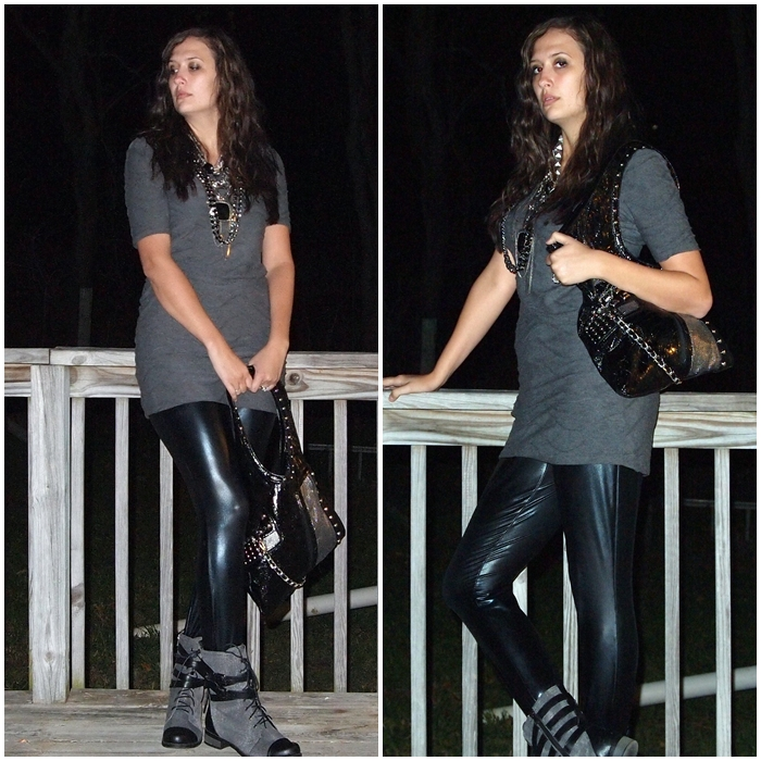 outfits to wear with combat boots and leggings labzada blouse