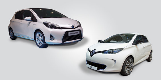 Renault Zoe Contra Toyota Yaris Hsd Forococheselectricos