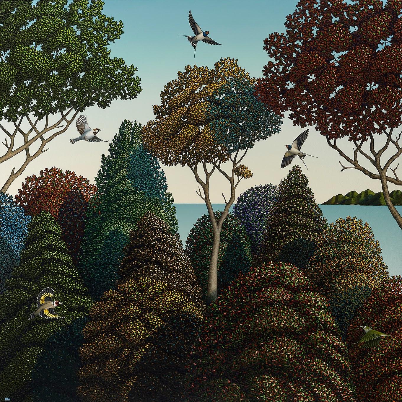 Hamish Allan Spring and the pleasure garden
