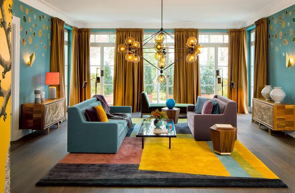 Elegante Einrichtung in feinstem Design in Berlin: AD Magazin im Haus Weyhe