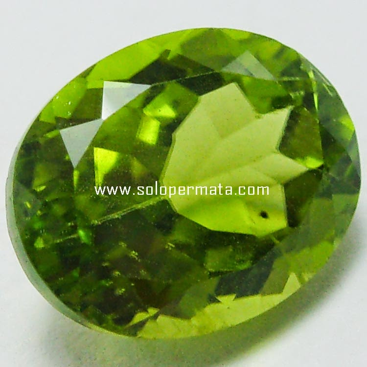 Batu Permata Natural Green Peridot