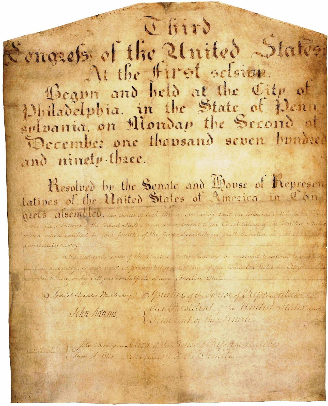 amendments of the united states constitution Articles in addition to, and amendment of, the constitution of the united states of  america, proposed by congress, and ratified by the several states, pursuant to.
