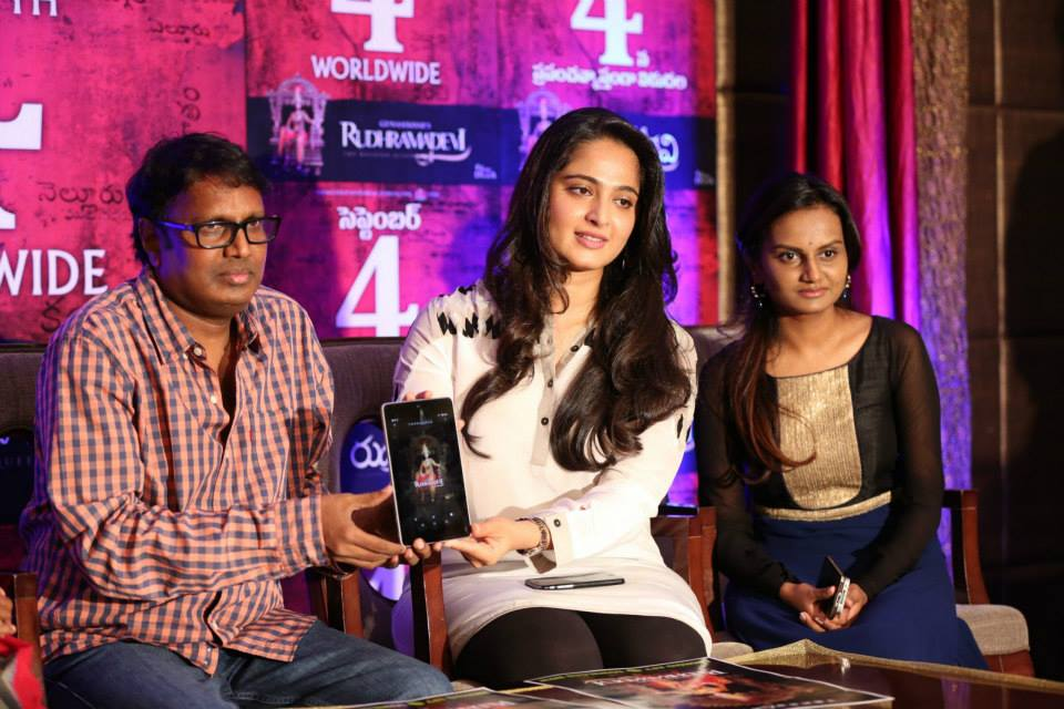 Rudhramadevi Release Day Press Meet HD images | Anushka | Gunashaker