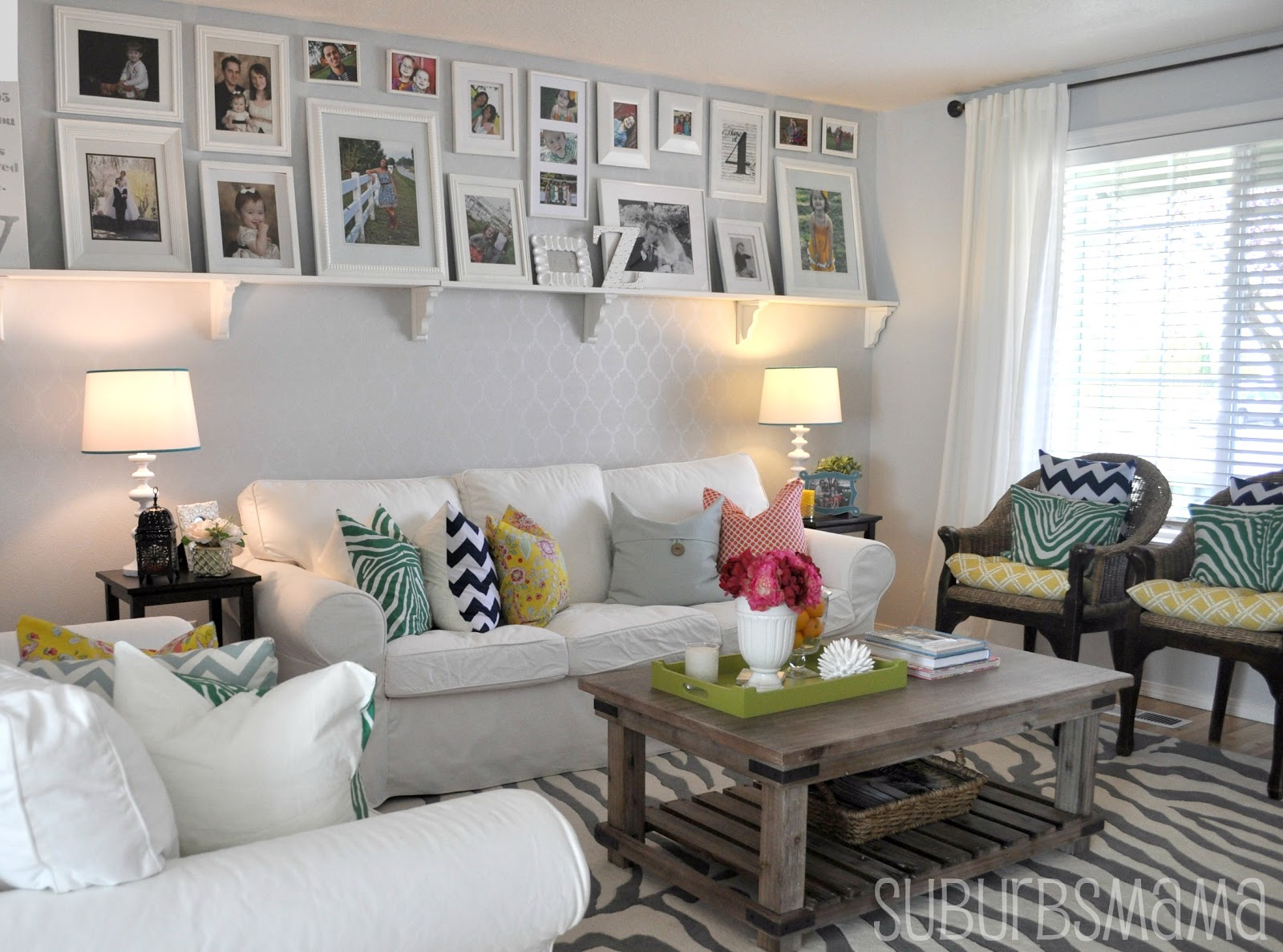 Suburbs Mama: The Living Room Updated