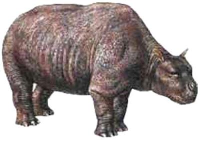 gigantes del pasado en argentina Toxodon