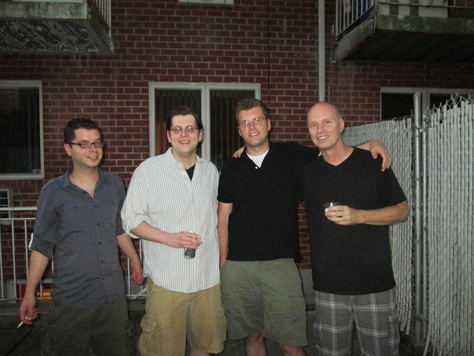 John R, Will, David and JEB