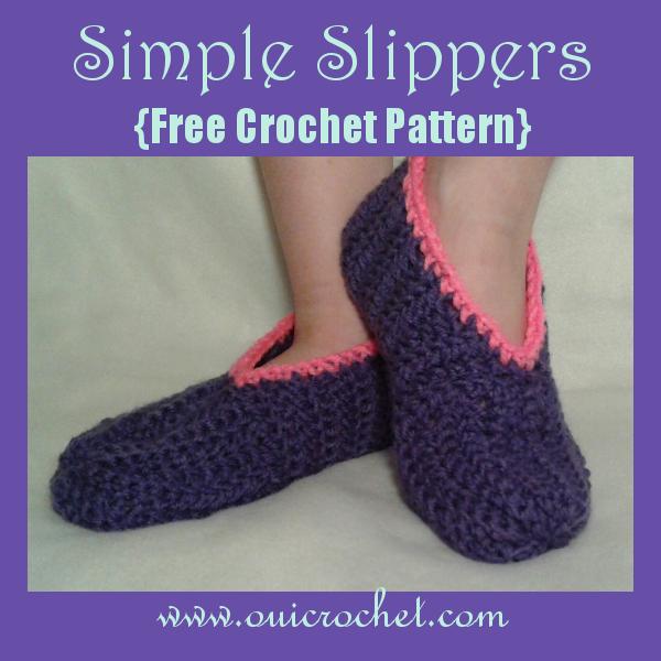 crochet slippers for beginners - photo #10